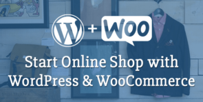 start online shop wordpress woocommerce