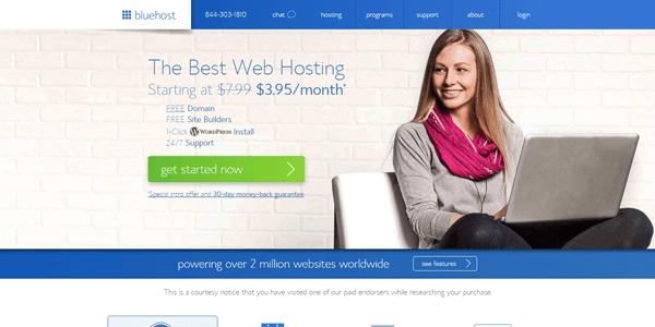 bluehost-best-blog-hosting