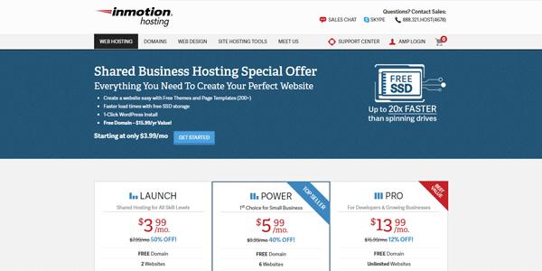 inmotion-best-blog-hosting